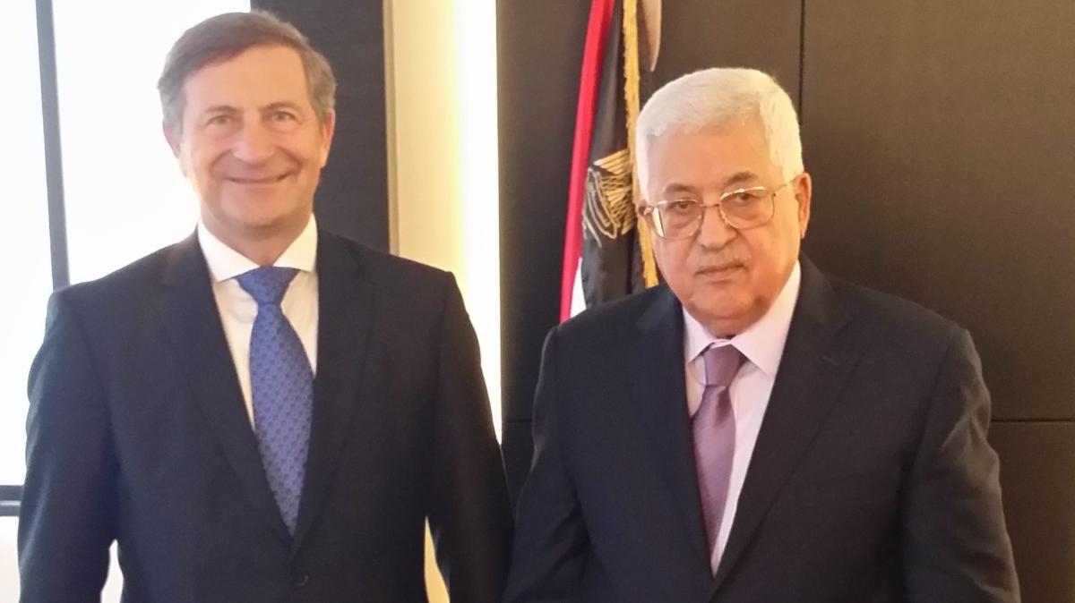 Cerar previdno o priznanju Palestine, tudi s postopkom proti Hrvaško gre v DZ